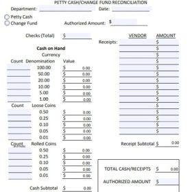 Cash Reconciliation Sheet Templates 12 Free Docs Xlsx Pdf Formats Samples Examples