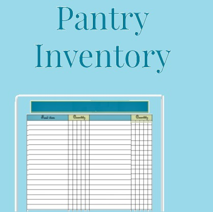 Pantry Inventory Templates 7 Free Xlsx Docs Pdf Formats Samples Examples