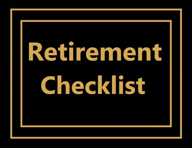 Retirement Checklist Template from www.excelstemplates.com
